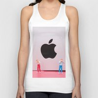 mac Tank Tops featuring Hungry Mac by Encolhi as Pessoas