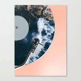 When the Needle Drops Canvas Print