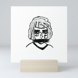 Shout Mini Art Print
