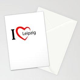 Leipzig. I love my favorite city. Stationery Cards
