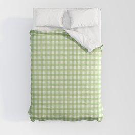Green Gingham Comforters