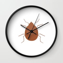 Small mite Wall Clock