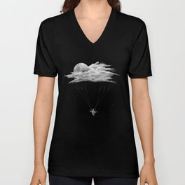 Skydiving Unisex V-Neck