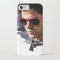 darren criss iPhone & iPod Cases featuring Darren by Monika Gross