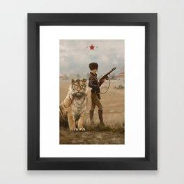 1920 - kittens Framed Art Print