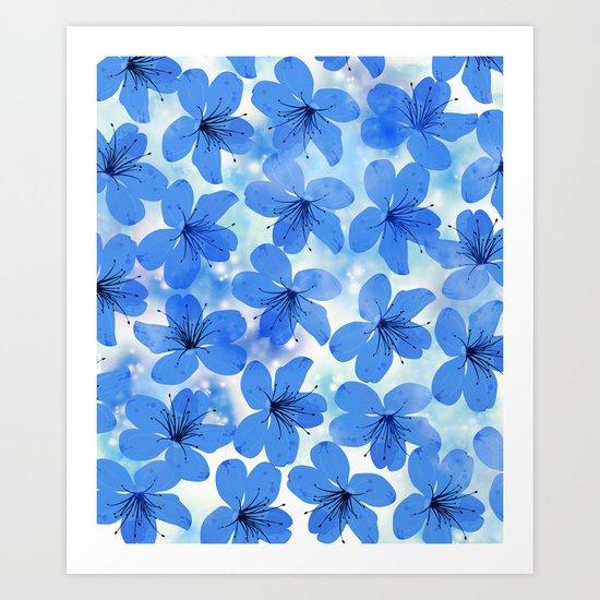 Floral Pattern A Art Print