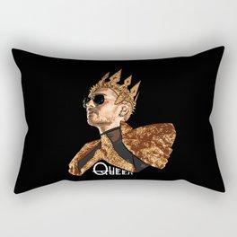 Queen Bill - White Text Rectangular Pillow