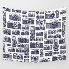 Film Cameras Wall Tapestry