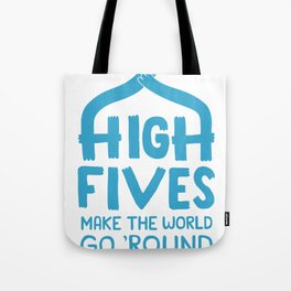 Hi-Fives Tote Bag