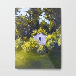 Your Backyard Metal Print