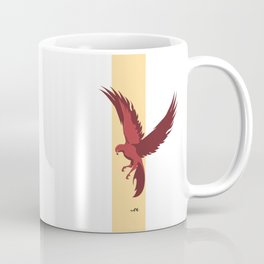 Red Falcon Coffee Mug