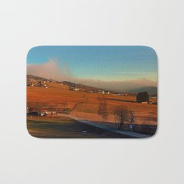 Clouds over the mountains II | landscape photography Bath Mat