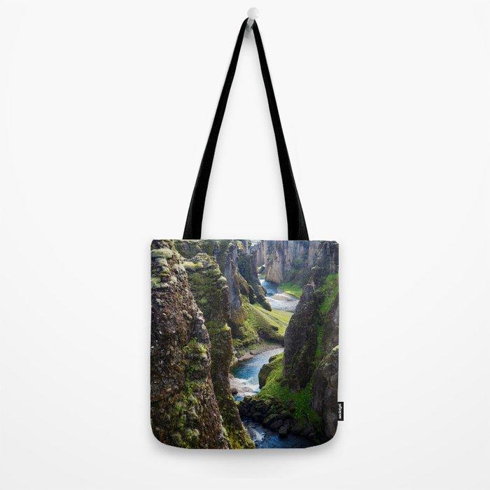 Icelandic Canyon Tote Bag
