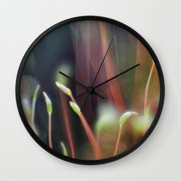 Macro-painting Wall Clock