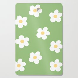 Retro 60's Flower Power Print Cutting Board