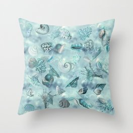Sea shells Wonder 2 Throw Pillow