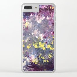 Scattered Life Clear iPhone Case