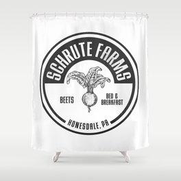 Schrute Farms Shower Curtain