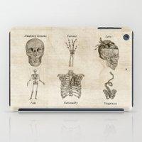 anatomy iPad Cases featuring Anatomy lessons by Sara Elan Donati