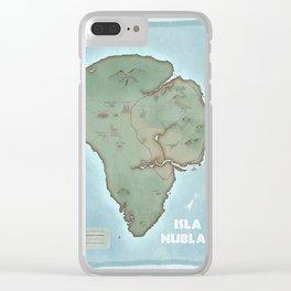 Isla Nublar Clear iPhone Case