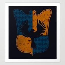 Ravenclaw House Art Print