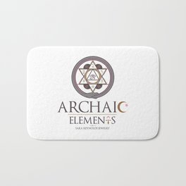 Archaic Elements 2 Bath Mat