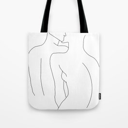 'A love like Ours' -  Line Drawing Tote Bag