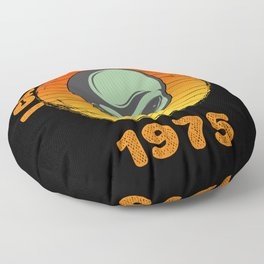 I Came To Earth In 1975 UFO Alien Floor Pillow