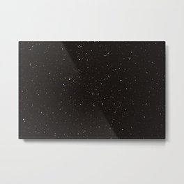 Starry Sky Photography Print Metal Print