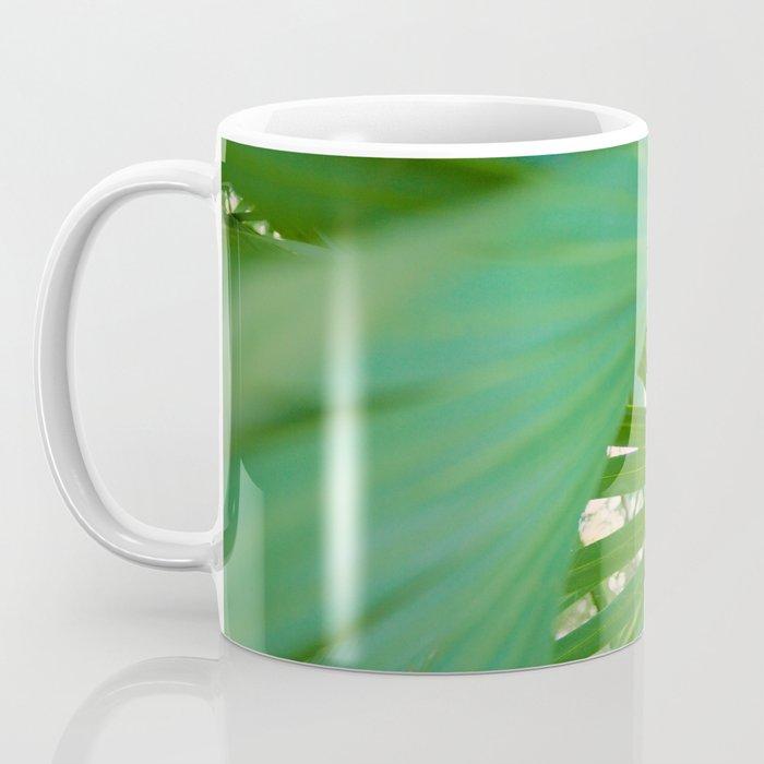 Curvy Fern Jungle Style Coffee Mug