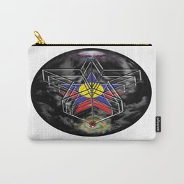"""""""Beez Lee Art : Wish Upon A Circle Star"""" Carry-All Pouch"""