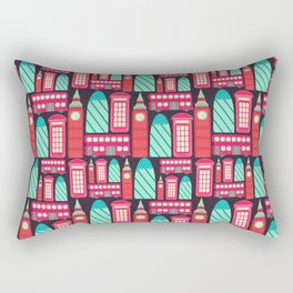 LONDON PATTERN Rectangular Pillow