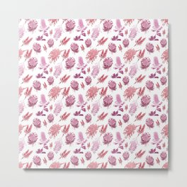Beautiful Autralian native Floral Print Metal Print