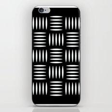 Industrial floor pattern iPhone & iPod Skin