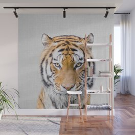 Tiger - Colorful Wall Mural