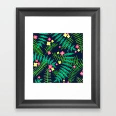 Natures Confetti Leaves  Framed Art Print