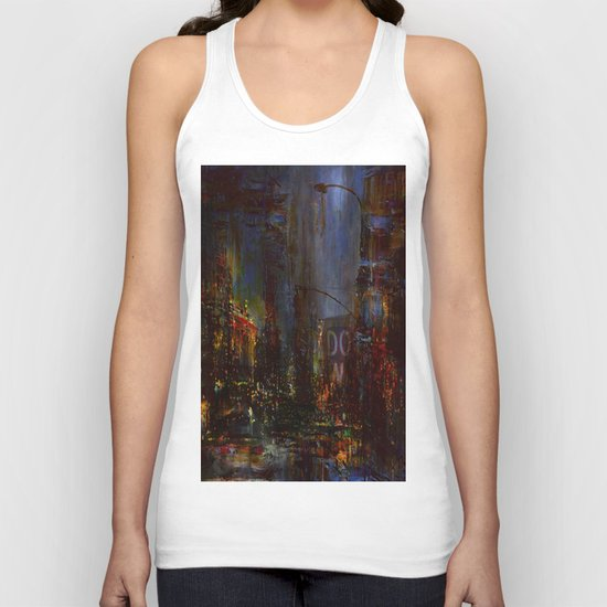 The Night Has a Thousand Eyes Unisex Tank Top