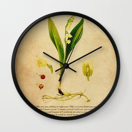 Breaking Bad - Lily of the Valley Wall Clock