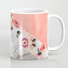 MIX IT BABY - CORAL MARBLE Coffee Mug
