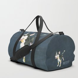 Husky Puppy Duffle Bag