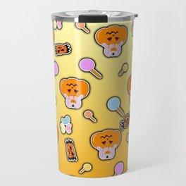 Rice ball Pumpkin Bunny Travel Mug