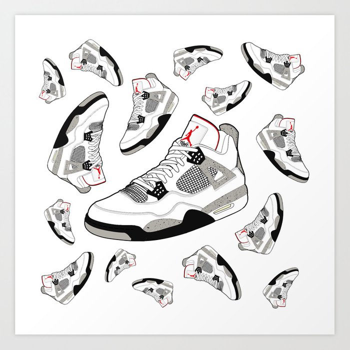 buy popular a080e b1902 Air Jordan Retro 4 IV OG