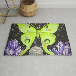Lunar Moth Magick Rug
