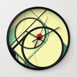 50's Christmas Wall Clock