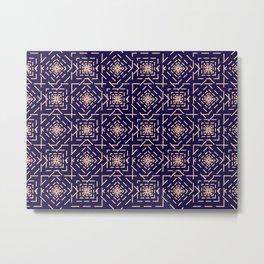 Rotate squares Metal Print