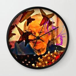 Cabsink16DesignerPatternVWW Wall Clock