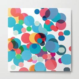 Dots and chaos Metal Print