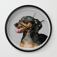 scully Wall Clocks featuring Classic Scully by Ben Goetting