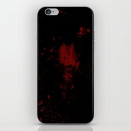Blood iPhone Skin