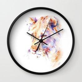 Patience . Lion Wall Clock